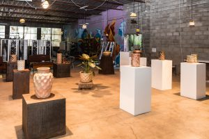 Web Quality Spotted Gum Pottery Opening13