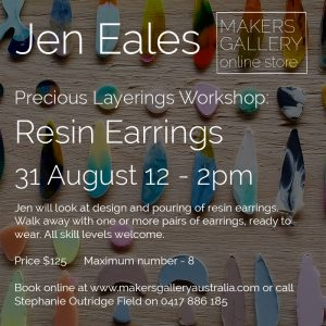 PLEAJW31 Resin Earrings Workshop