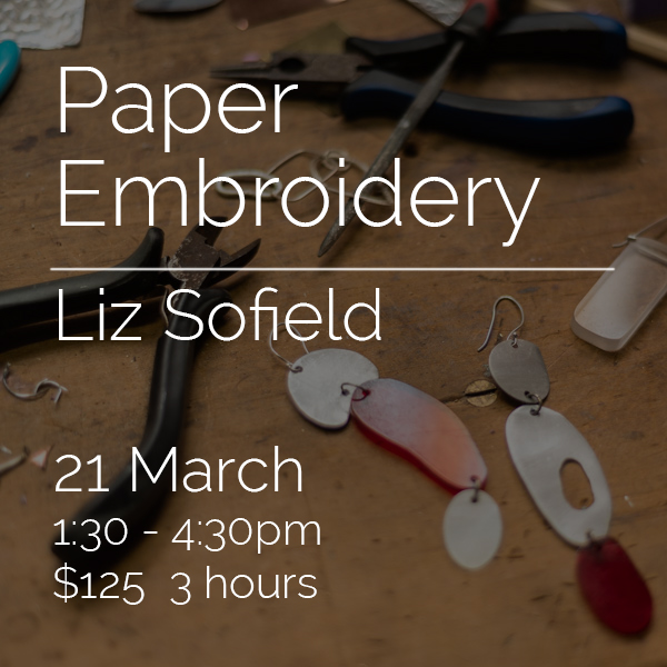 2107 - Paper Embroidery