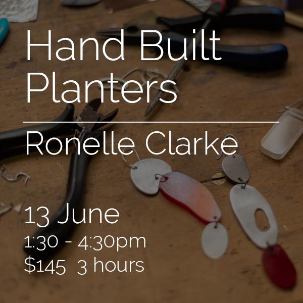 2114 - Hand Built Planters